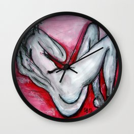 RedLady Wall Clock