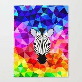 Zebra Dazzle Canvas Print