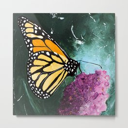 Butterfly - Soft Awakening - by LiliFlore Metal Print