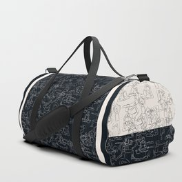 Yoga Manuscript Duffle Bag