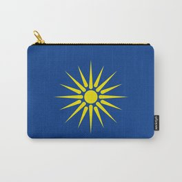 Greek Macedonia ethnic flag Carry-All Pouch