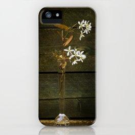 Shadbush Flowers iPhone Case