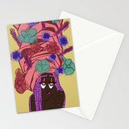 Heavy is the Headwrap  Stationery Cards
