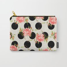 MIXED FLORAL Carry-All Pouch