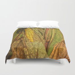 The last ear of corn Duvet Cover