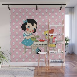 Bright Sparks Tea Party Wall Mural