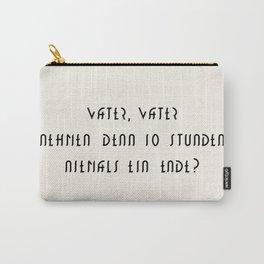 M E T R O P O L I S Carry-All Pouch