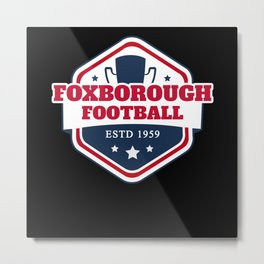 Foxborough American Football Metal Print