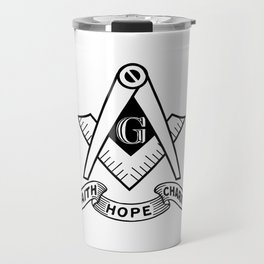 Freemasonry symbol Travel Mug