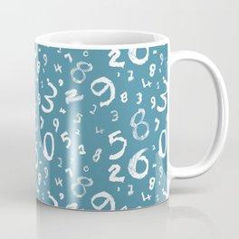 Algebra minus x - Blue and white Coffee Mug