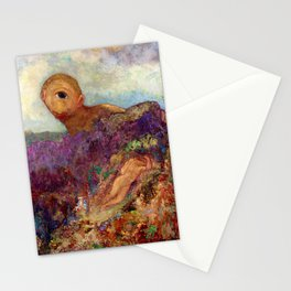 Odilon Redon - Cyclops - Digital Remastered Edition Stationery Cards