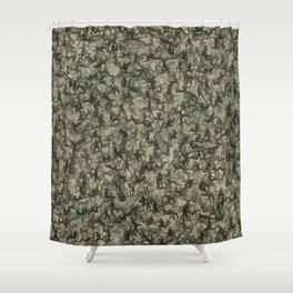 Sexy girls camouflage Shower Curtain