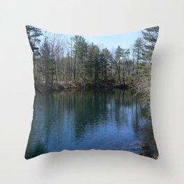 Pocket Pond Throw Pillow