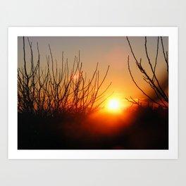Spanish Sunrise Art Print