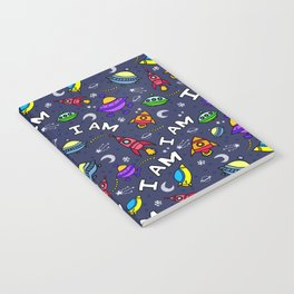 I Am Spaceless Notebook