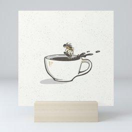 Wake 'n Skate Mini Art Print