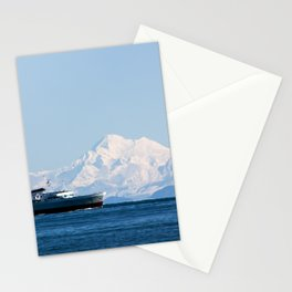 Coho and the mountain Stationery Cards