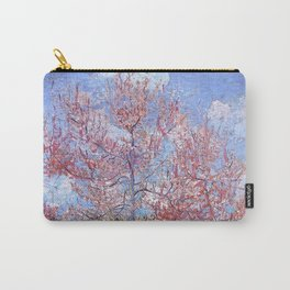 Pink Peach Tree in Blossom by Vincent van Gogh Carry-All Pouch