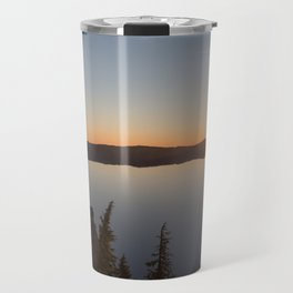 Sunrise at Crater Lake Travel Mug