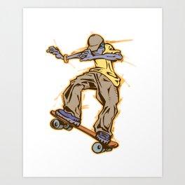 skateboy Art Print