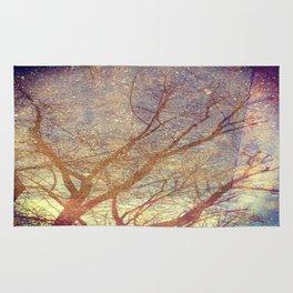 Galaxy + Nature Reflection Rug