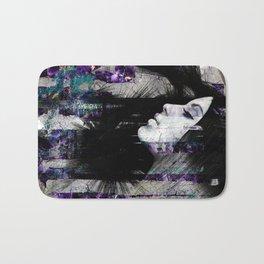 Abstract Art Composition Female face Bath Mat