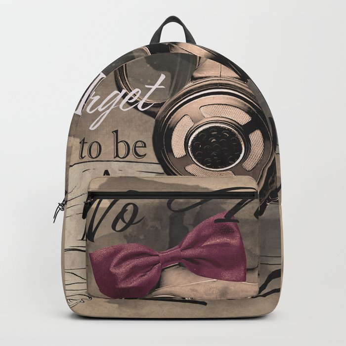 Lady's gas mask Backpack