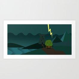 Glooming Ork Art Print