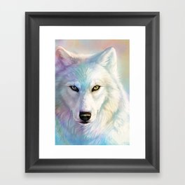 Pearlescent Framed Art Print