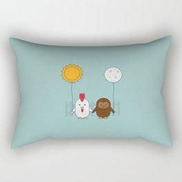Early Bird & Night Owl Rectangular Pillow