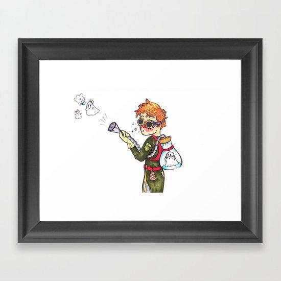 Ghost Hunter Framed Art Print