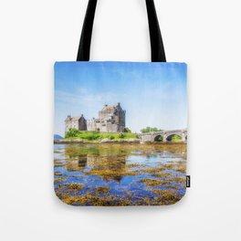 Eilean Donan in Summer Tote Bag