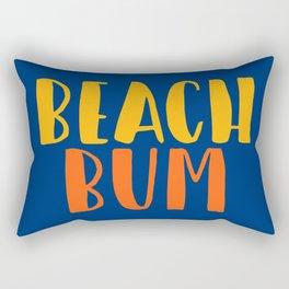 Beach Bum Rectangular Pillow