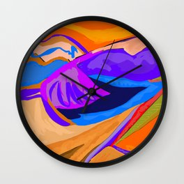 Friday In The Fall Wall Clock