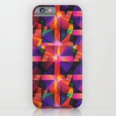 Abstract blocks pattern 2 iPhone 6s Slim Case