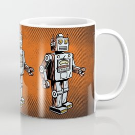 Retro Robot Toy Coffee Mug