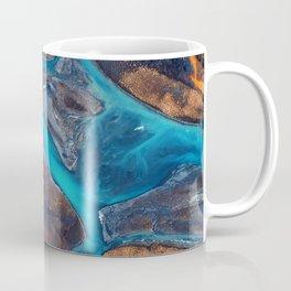 River Top View Coffee Mug