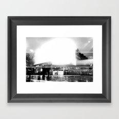 Picadilly Circus Framed Art Print