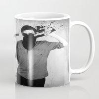 splatter Mugs featuring Splatter by Brandon Juarez