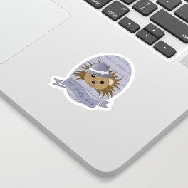 Ms. Hedgehog Sticker