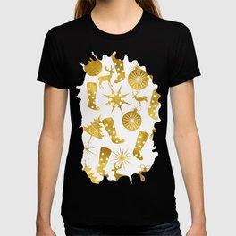 Gold Christmas 06 T-shirt