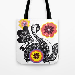 Indhi Swan Tote Bag