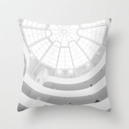 ARCHITECTURAL CEILING DESIGN Throw Pillow