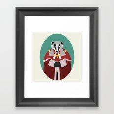 Badgistrate! Framed Art Print