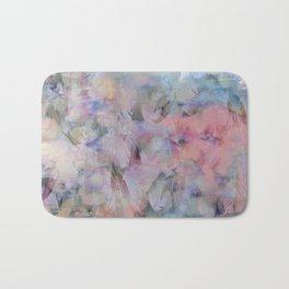 Painterly Soft Flora Abstract Bath Mat