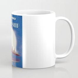 Travel the world by Cruise Ship Coffee Mug