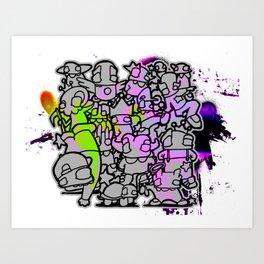 AWinParty Art Print