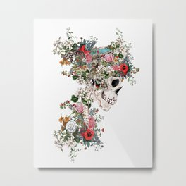 Skull Queen Metal Print