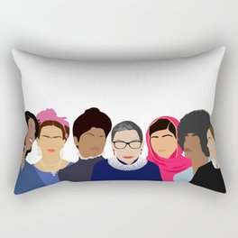 Feminist Squad Goals Rectangular Pillow