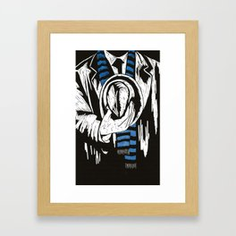 You Were So Smart Then Framed Art Print